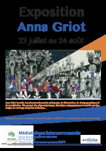 Exposition d'Anna Griot